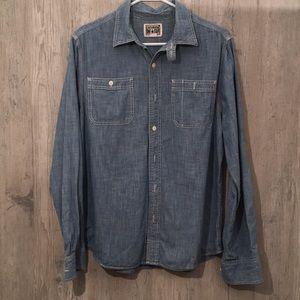 Converse All star button down shirt size M